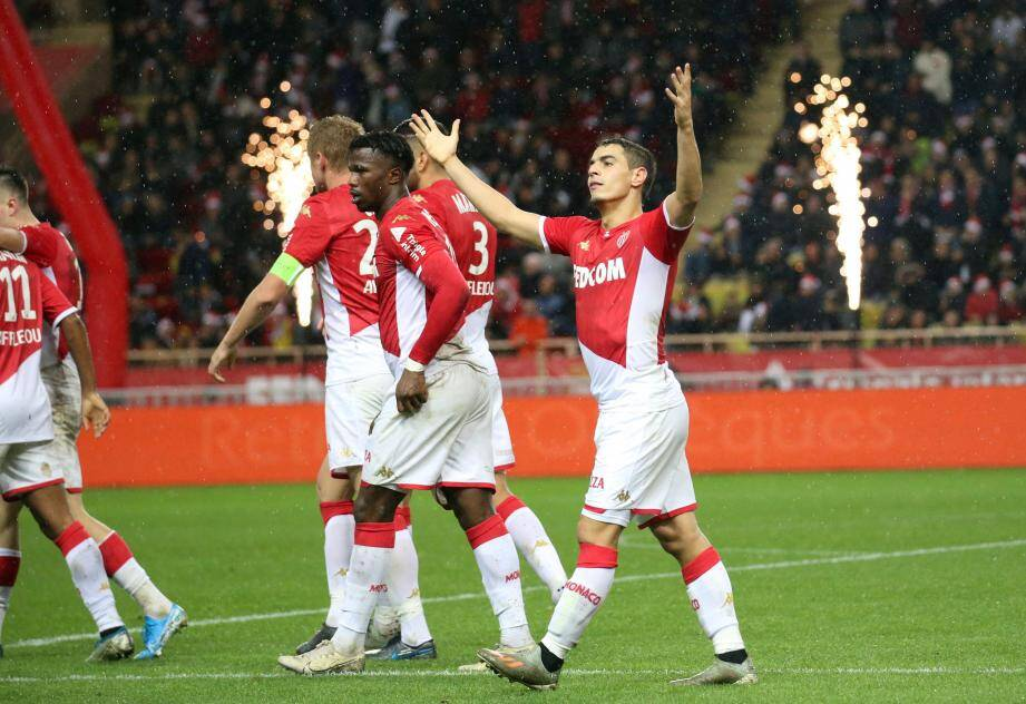 Wissam Ben Yedder réussit un début de saison parfait avec l'AS Monaco.