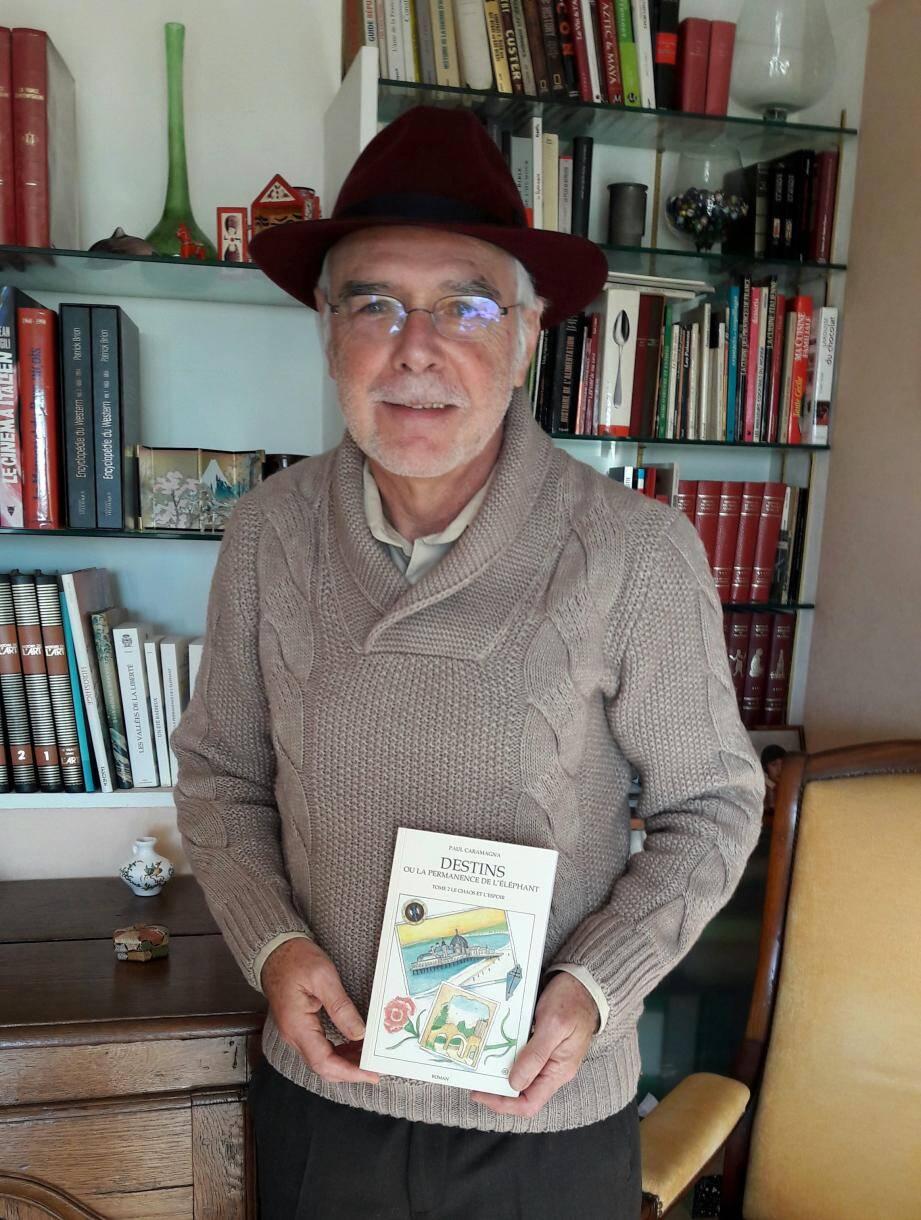 Paul Caramagna sera en séance de dédicace à Contes, samedi 28 décembre.