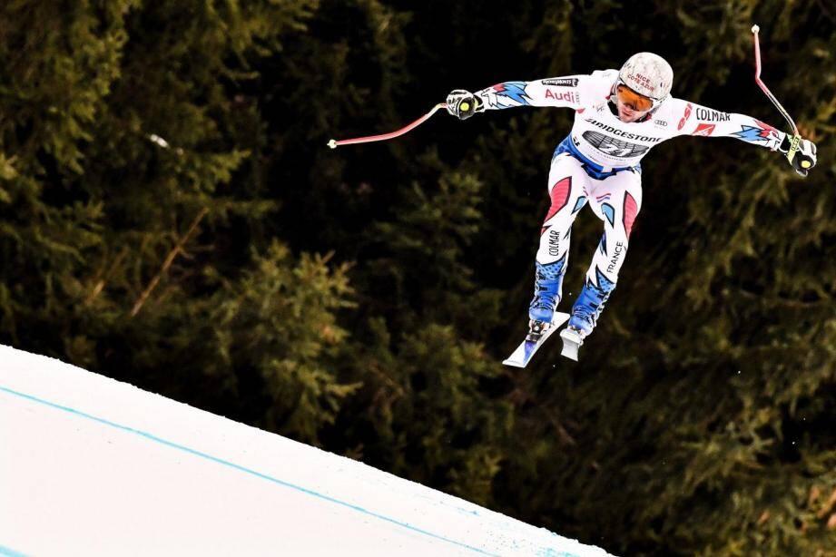 Matthieu Bailet à Garmisch.