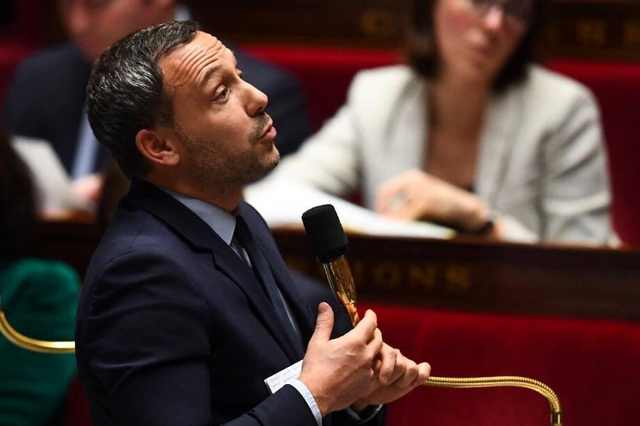 Adrien Taquet le 17 décembre 2019 à l'Assemblée nationale