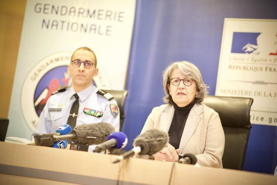 Fabienne Atzori, le procureur de la République de Grasse,