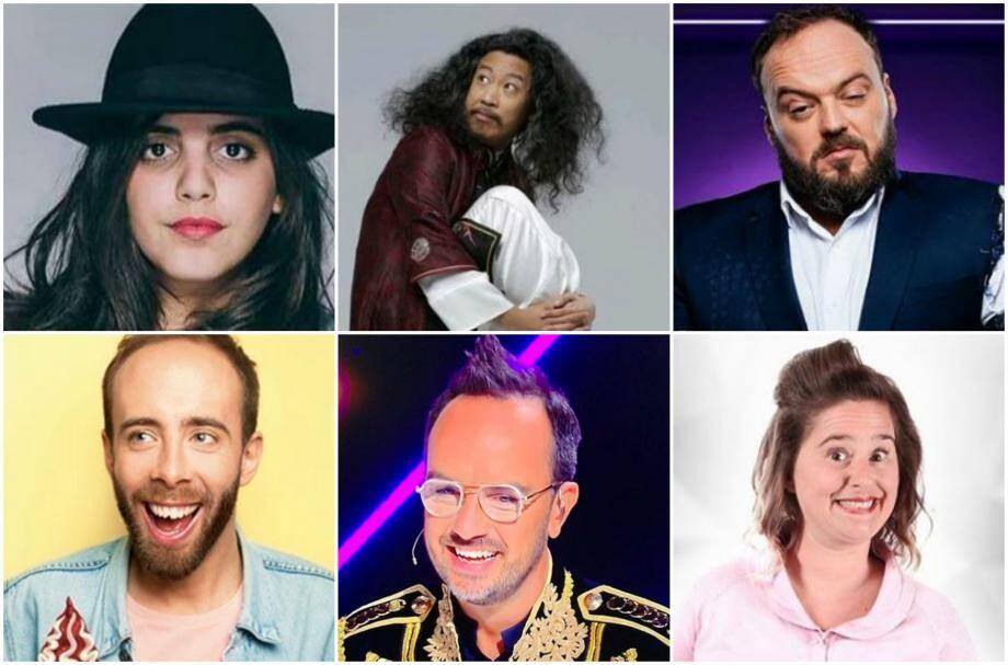 Les têtes d'affiches du prochain Festival Perf d'Acteur, du 7 au 13 avril à Cannes.