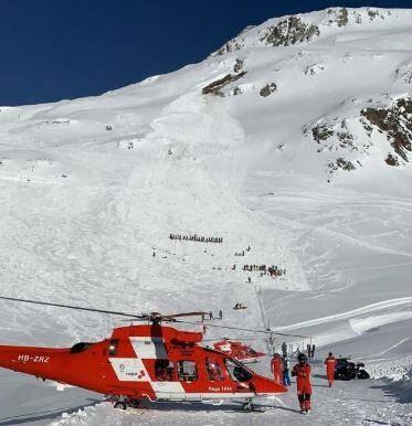 Une avalanche s'est déclenchée jeudi matin à Andermatt
