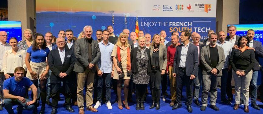 Parmi les trente startups qui accompagneront la délégation régionale, dix sont des Alpes-Maritimes et quatre du Var.