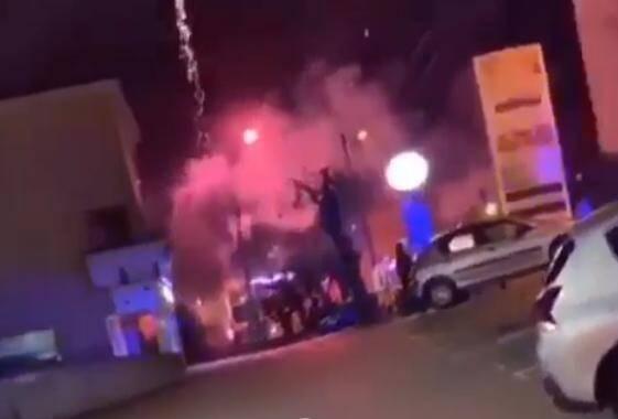 Des affrontements entre des individus cagoulés et la police ont éclaté dans le quartier des Fleurs de Grasse.