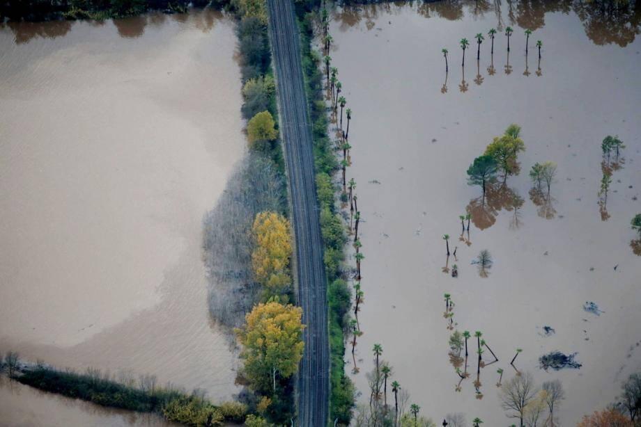 Des inondations dans le Var.
