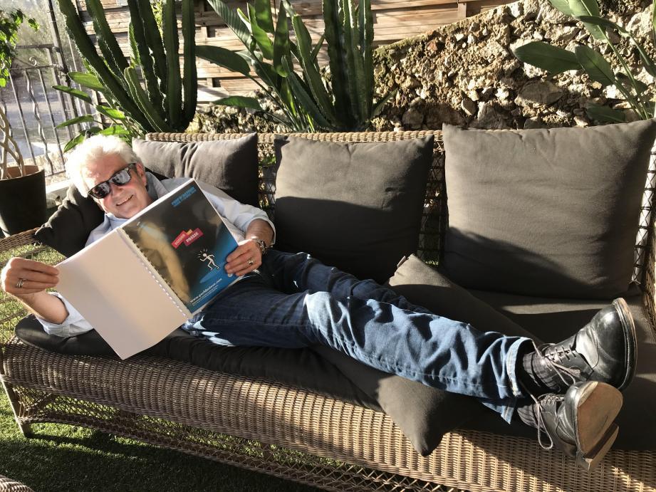 Fabrice Laurent, président du festival Perf' d'acteur à Cannes.
