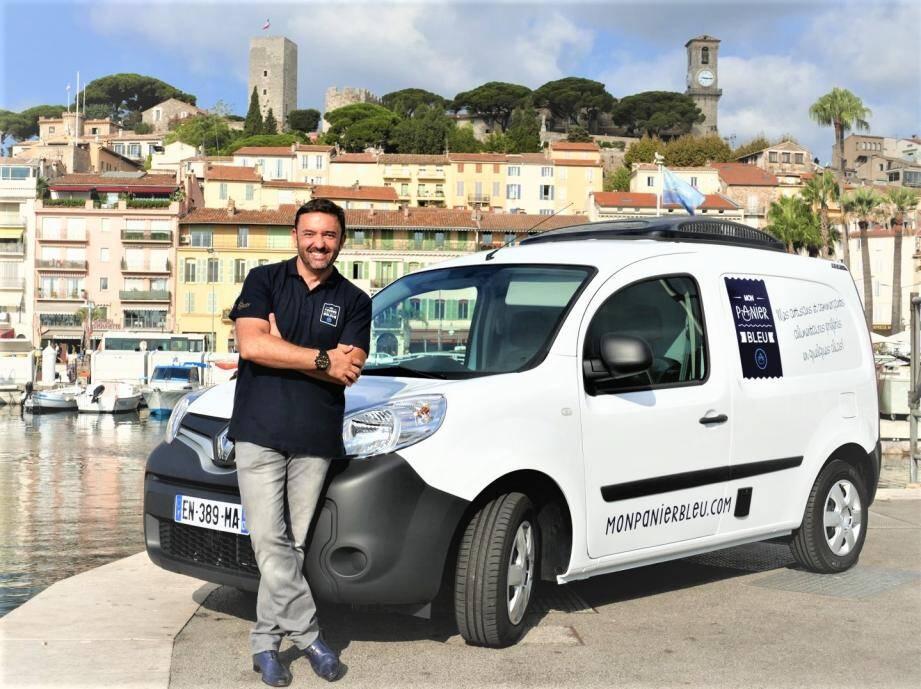 Le service lancé par Olivier Roubin dispose de véhicules frigorifiques permettant de préserver la chaîne du froid.