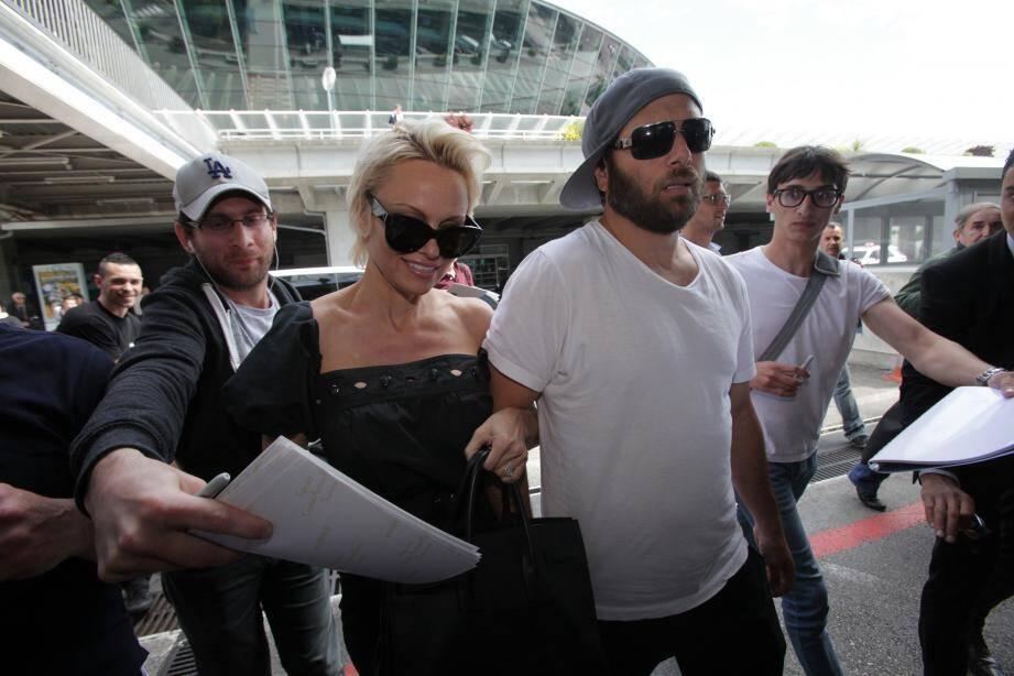 Rick Salomon et Pamela Anderson en 2014.