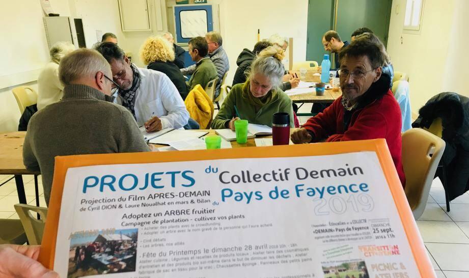 Venus des villages du pays de Fayence, des citoyens planchent sur des propositions pour que les candidats puissent les intégrer à leur programme.