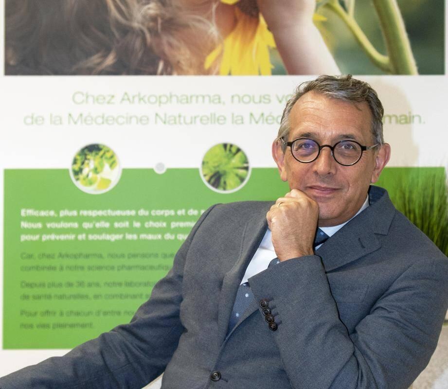 «Notre force, c'est d'avoir accompagné près de deux générations de pharmaciens en France et notre ambition est de suivre la 3e génération», souligne Hugues Witvoet, le nouveau président d'Arkopharma.