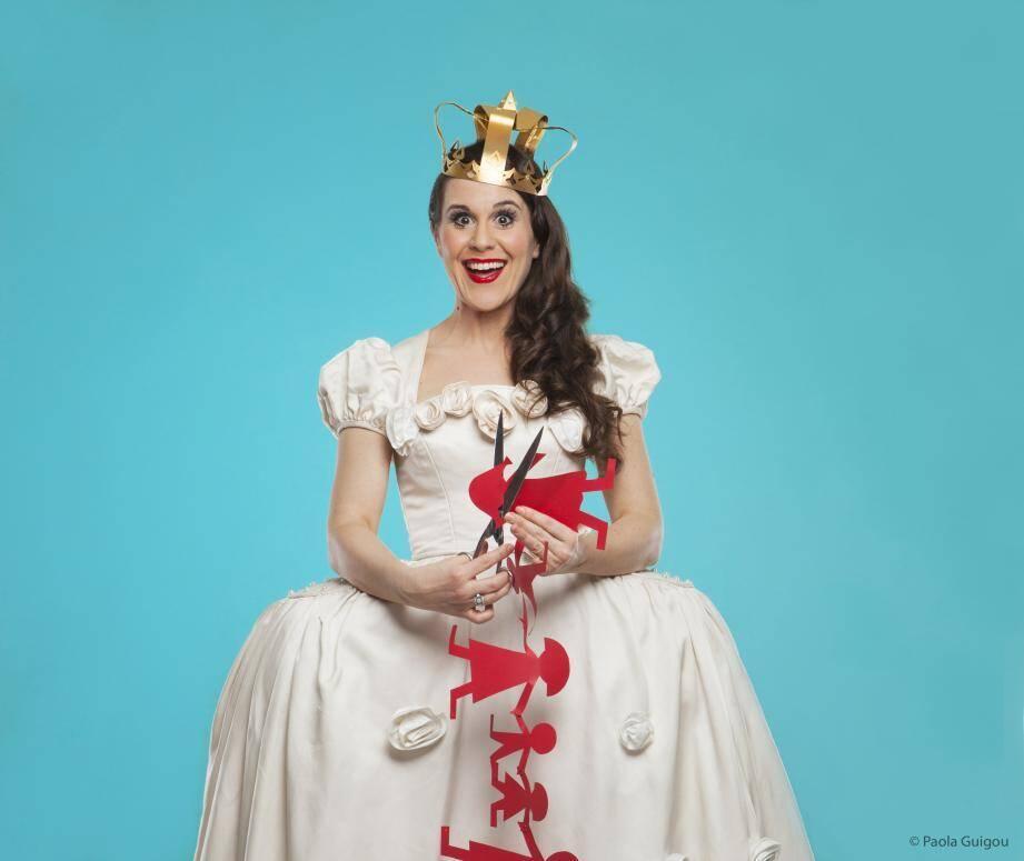 """""""Moi Jeu!"""", Antonia de Rendinger, spectacle mis en scène par Olivier Sitruk"""