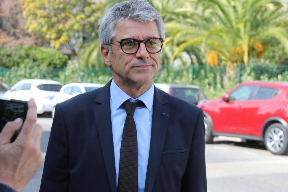 Le préfet des Alpes-Maritimes Bernard Gonzalez.