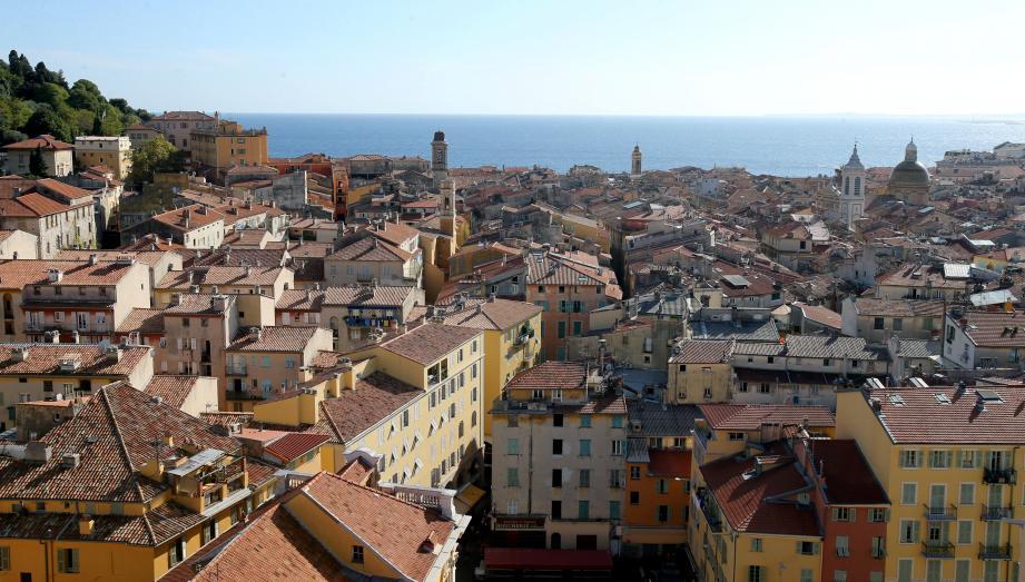 Une vue du Vieux-Nice.