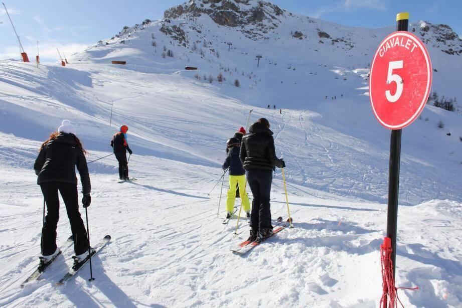 Le temps devrait être idéal pour aller skier.