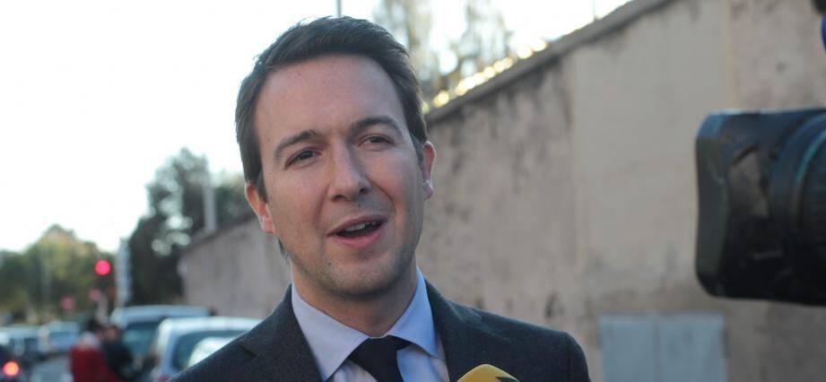Guillaume Peltier à Nice en 2014.