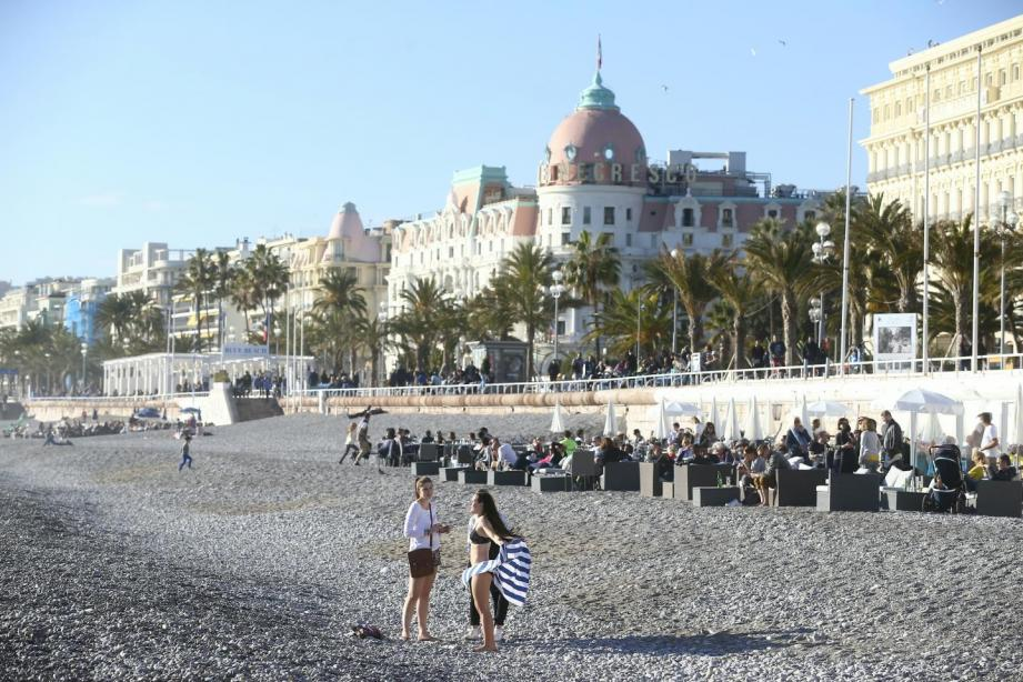 La journée sera très agréable à Nice (illustration).