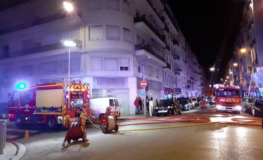 L'incendie rue Trachel à Nice s'est déclaré lors du réveillon de Noël.