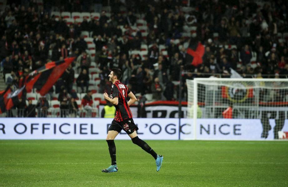 Lees-Melou a été ovationné par le public niçois.