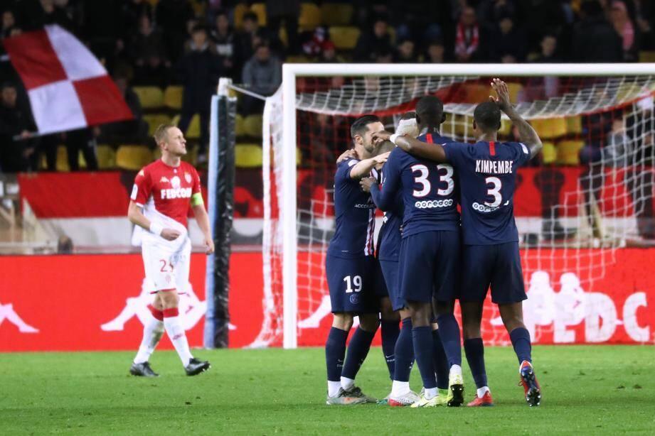 Lors de Monaco - PSG.