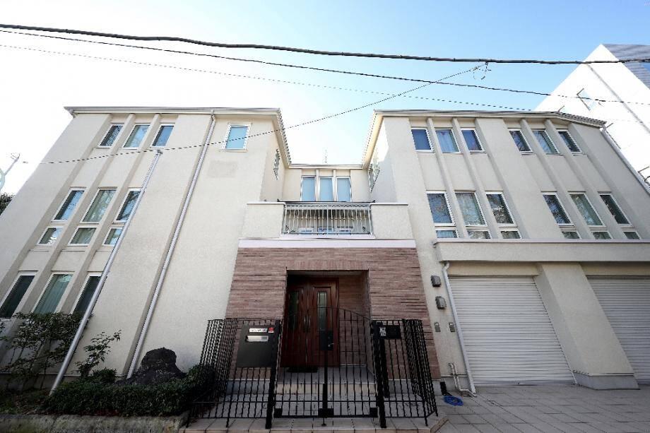 La résidence de Carlos Ghosn au Japon à Tokyo, le 3 janvier 2020