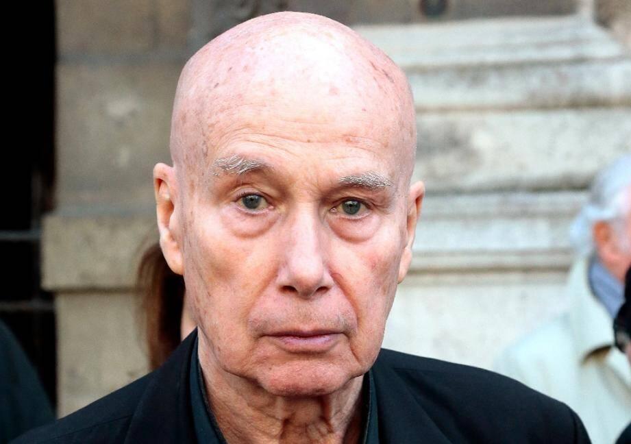 L'écrivain Gabriel Matzneff, le 10 avril 2014 à Paris.