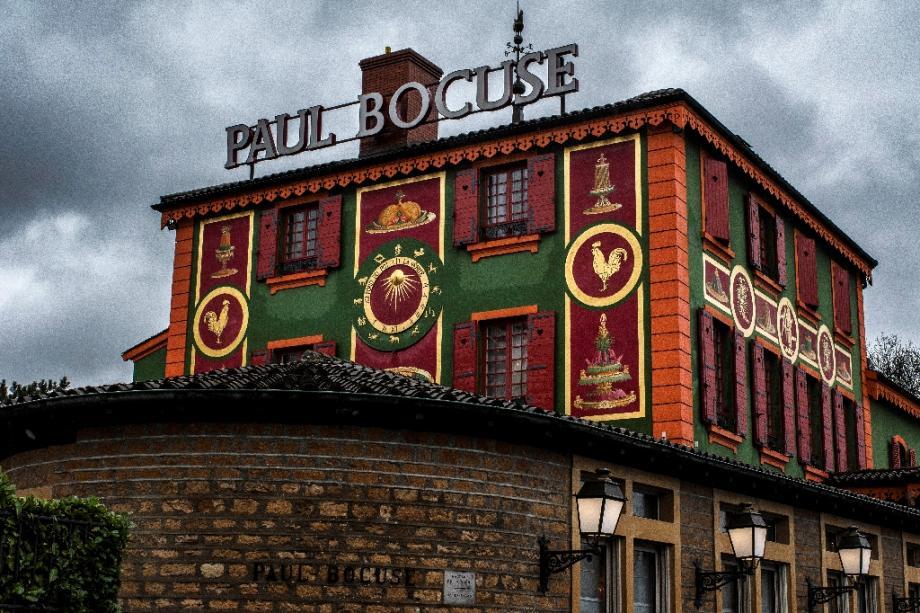 L'auberge du Pont de Collonges, de Paul Bocuse, en 2018