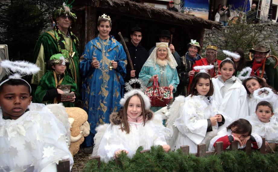 Paysans, bergers et enfants seront invités à suivre le cortège ce dimanche.
