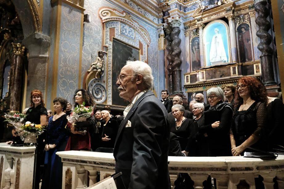 Le président de l'association Piano à Levens a été distingué lors du dernier conseil municipal.
