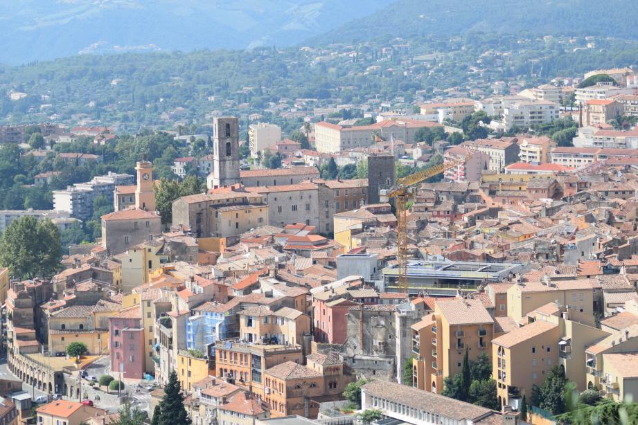 Grasse a été retenue parmi les 222 communes participant à l'Action Cœur de Ville. Un dispositif permettant de revitaliser le centre-ville.()