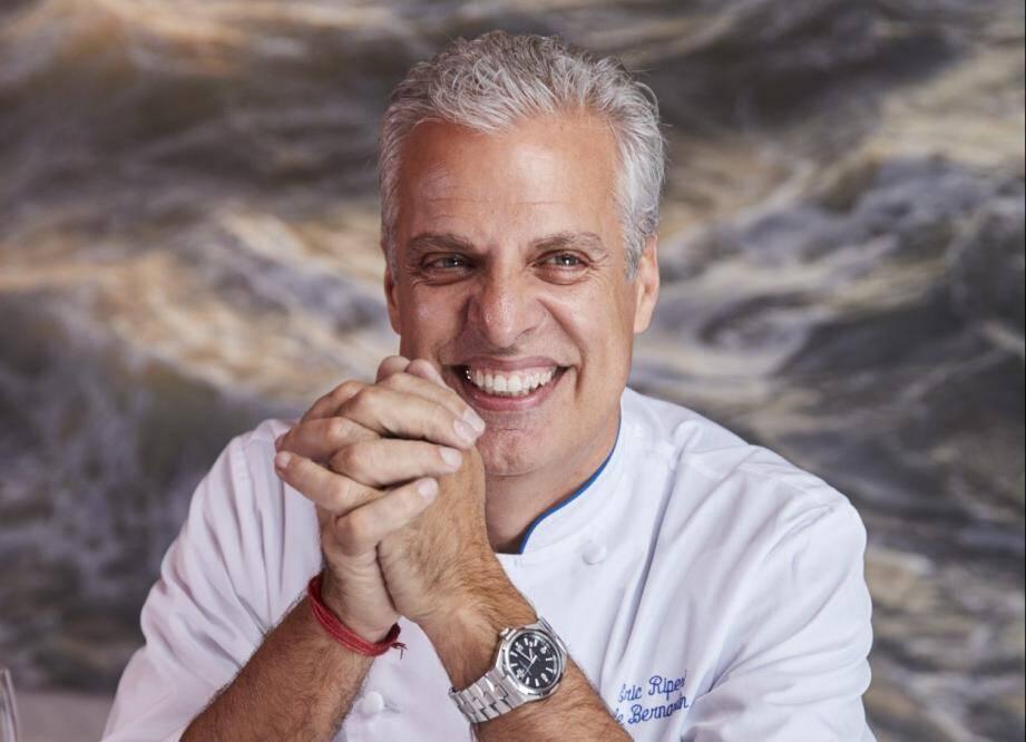 Eric Ripert, un chef à l'ascension fulgurante qui a su imposer sa French touch.