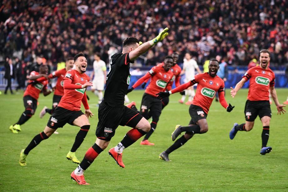Le 27 avril 2019, Rennes battait le PSG en finale (2-2, 6 tab 5) à la surprise générale.