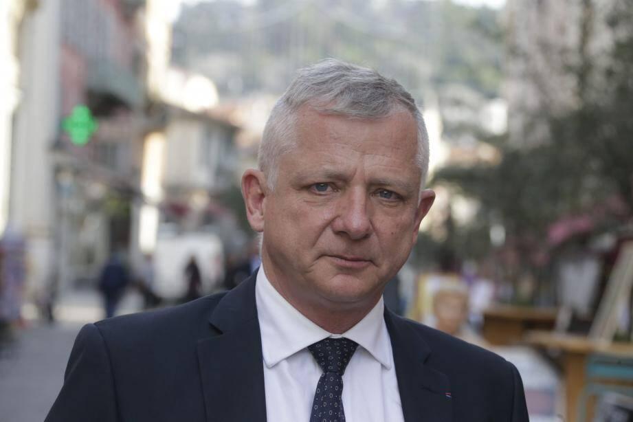 Benoît Kandel, élu municipal sur la liste d'Olivier Bettati, est candidat au scrutin niçois.