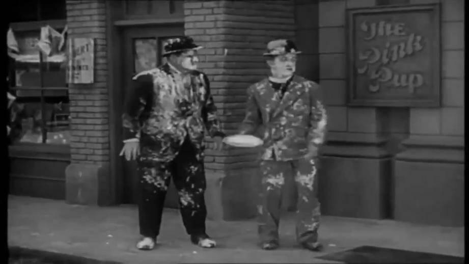 Au programme, la projection des grands classiques de Laurel et Hardy comme La bataille du siècle. (DR)
