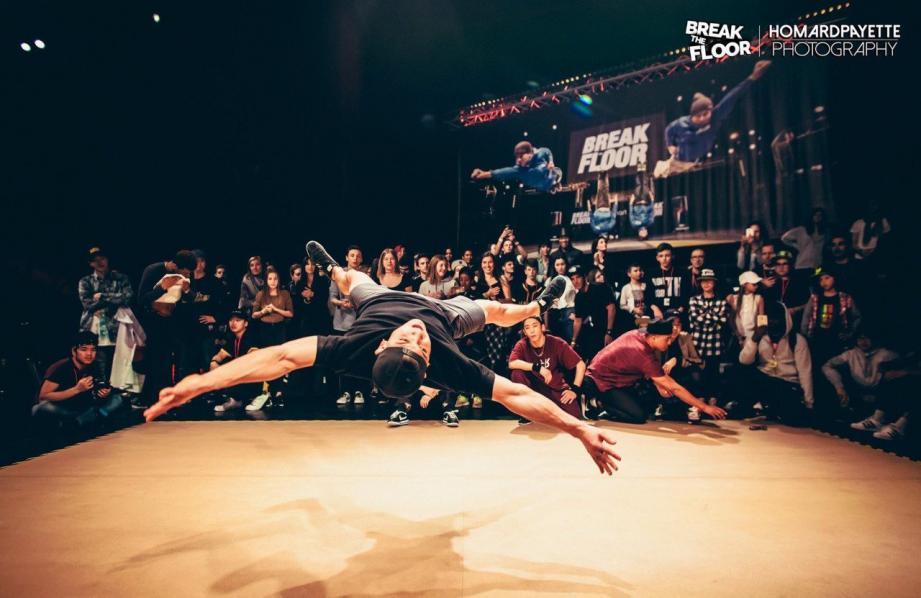 Les danseurs de Break the floor viendront apprendre quelques figures au public à la médiathèque de Mouans-Sartoux.