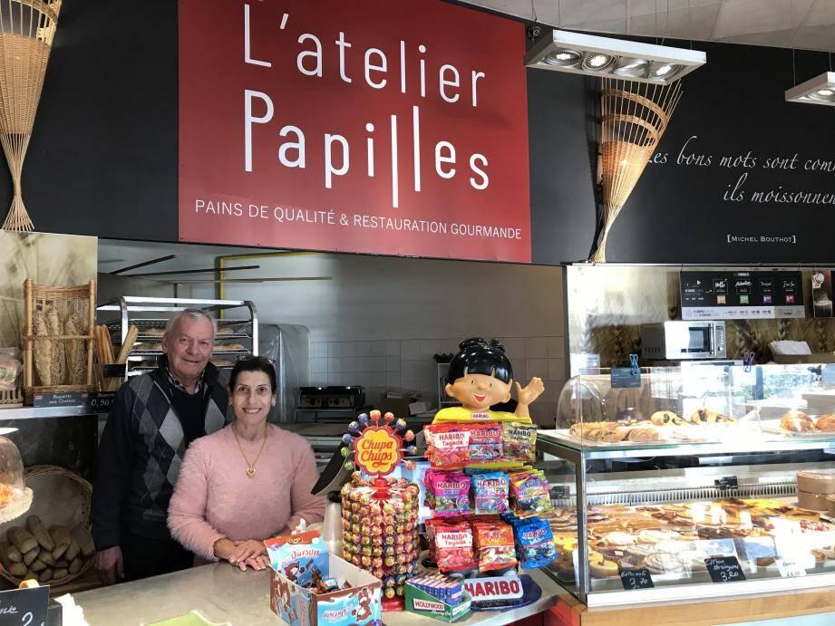 Jean-Paul et Marie-Ange Garde ont repris la boulangerie du Plan, il y a un peu plus d'un an.