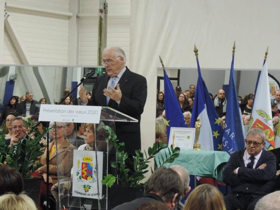 Le maire l'a annoncé lors de la présentation de ses vœux à la population.