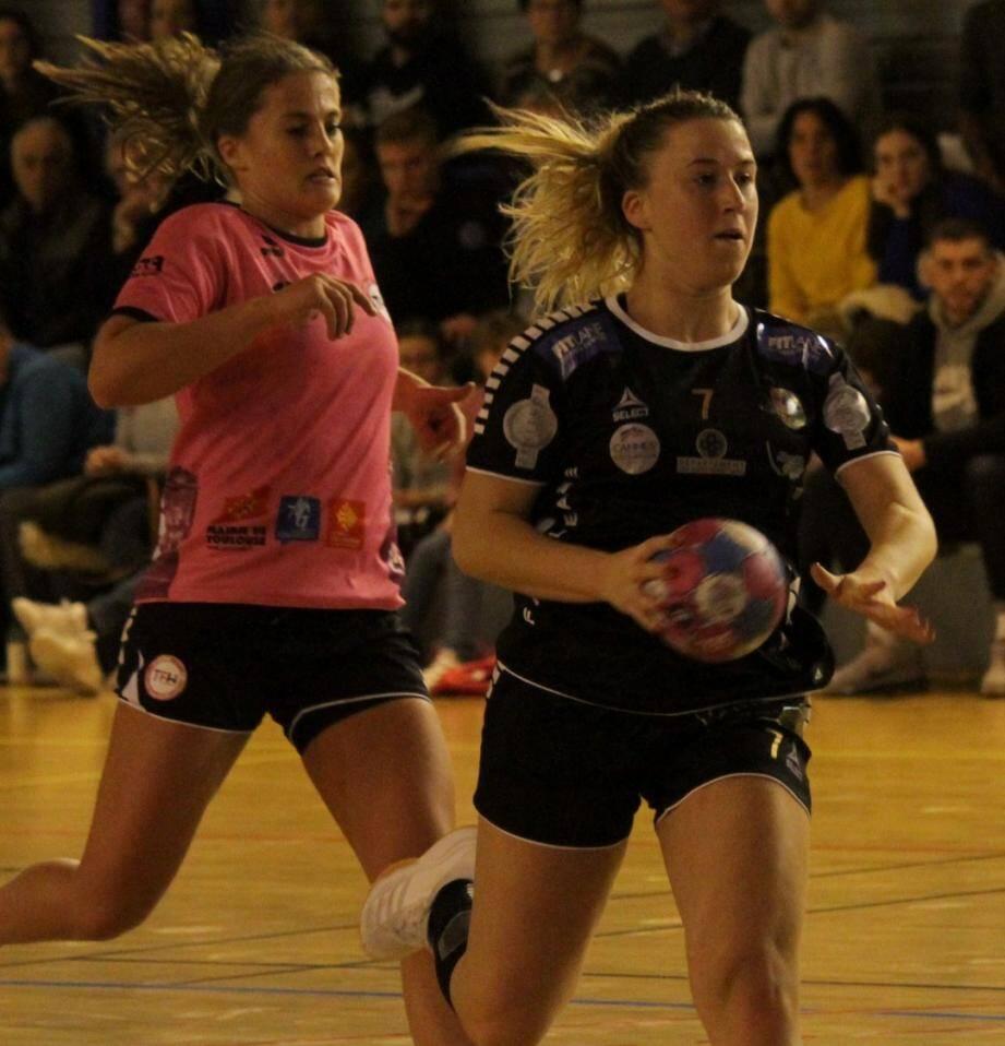 N1F : 7 buts pour Mélanie Chatelet lors du succès face à Val d'Argens.
