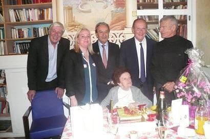 La Mentonnaise Suzanne Mahé a fêté ses cent ans !(DR)