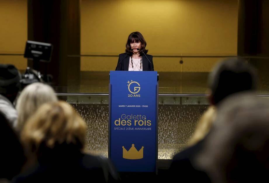 Devant les amis du Grimaldi Forum, réunis à l'occasion de la traditionnelle galette des rois, Sylvie Biancheri a présenté les résultats exceptionnels de l'année 2019.