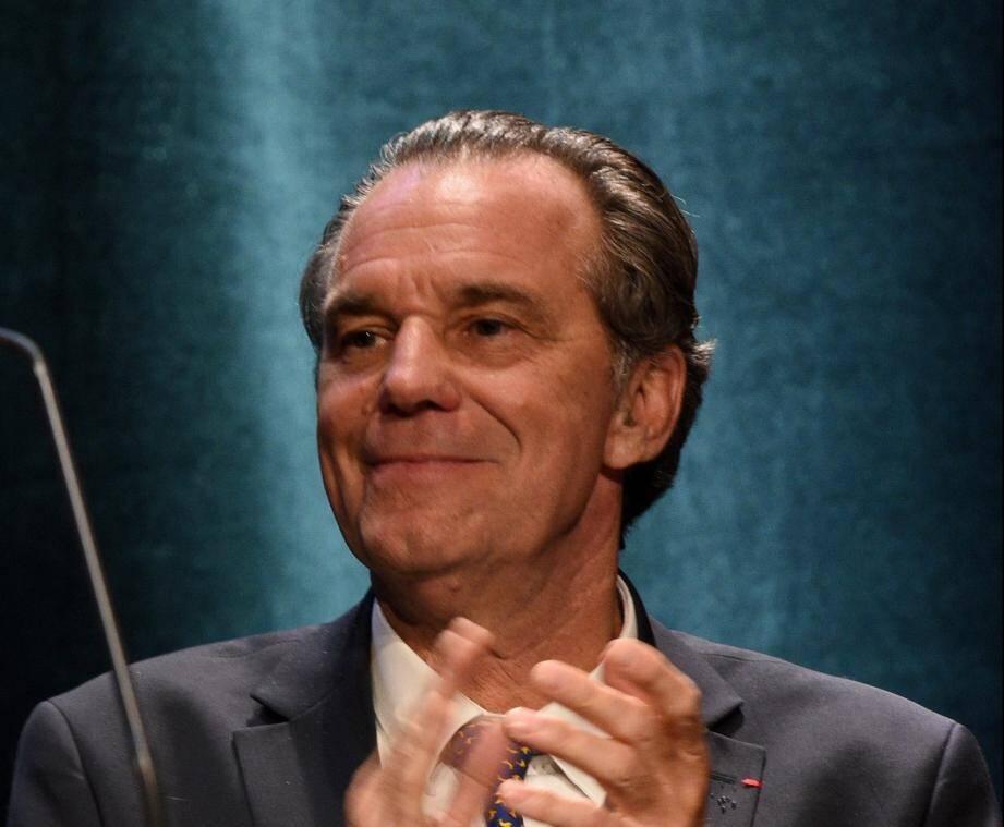 Renaud Muselier, le président de la région Paca.
