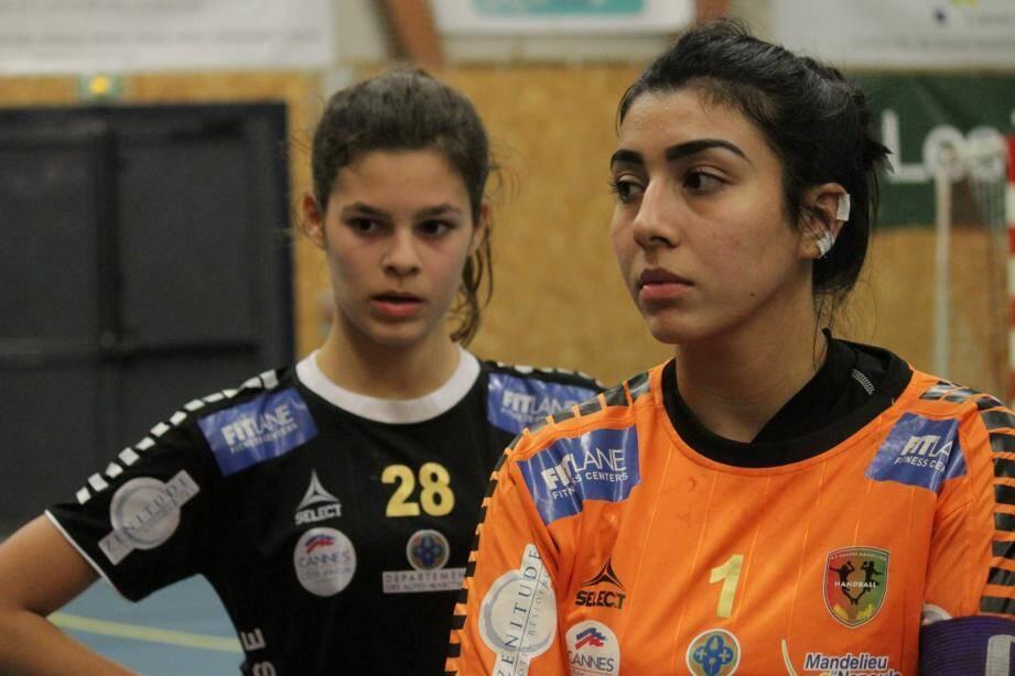 Lombardo et Azri de l'ASCM HB.
