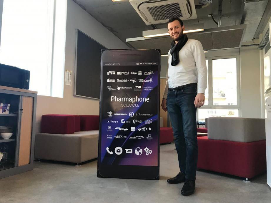 """Avec son collègue Franck Renucci, David Galli organise les rencontres """"Pharmaphone"""", première du nom, dont il espère qu'elles seront suivies de nouvelles éditions."""