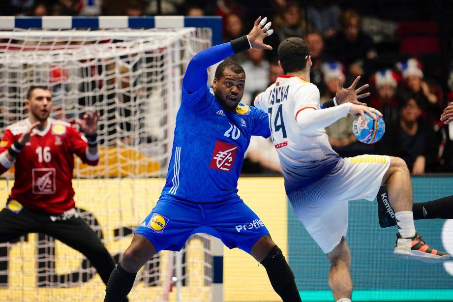 Sorhaindo et les Bleus ont déçu hier, face au Portugal de Rui Silva.