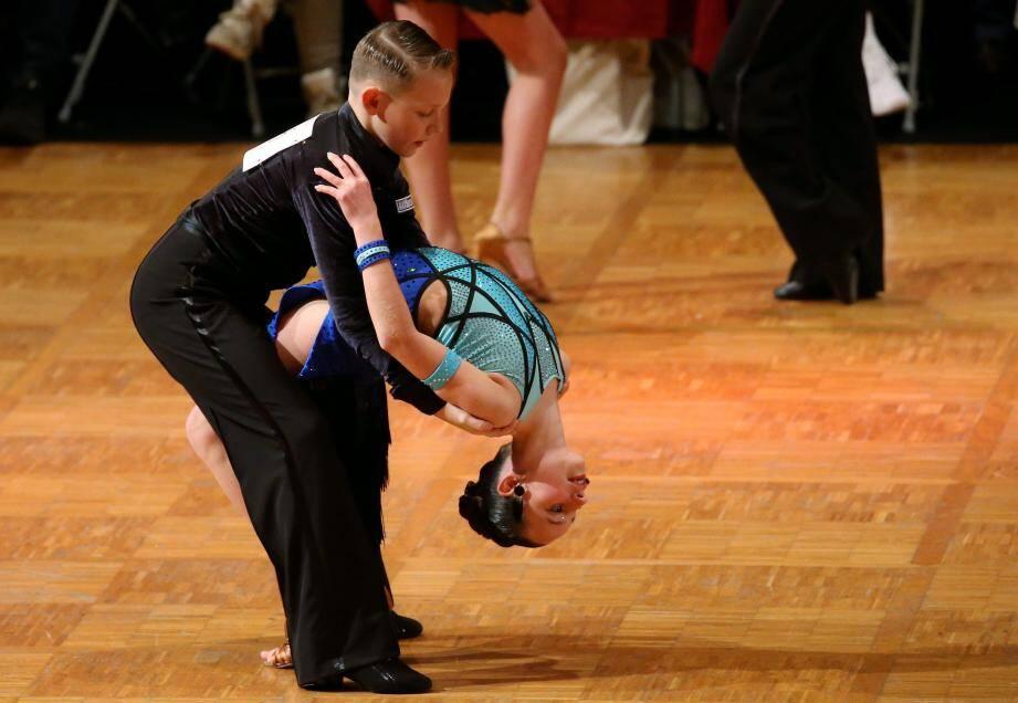 Tout compte dans la danse sportive, les expressions du visage aussi.
