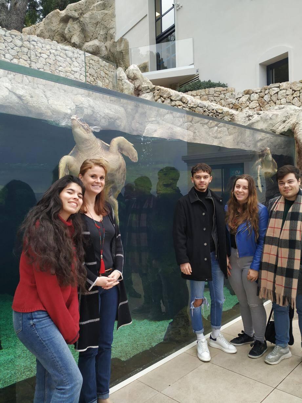 D'ici la fin du premier trimestre 2020, les visiteurs du musée océanographique pourront participer au projet de parrainage des espèces marines mis en place par ces étudiants niçois.