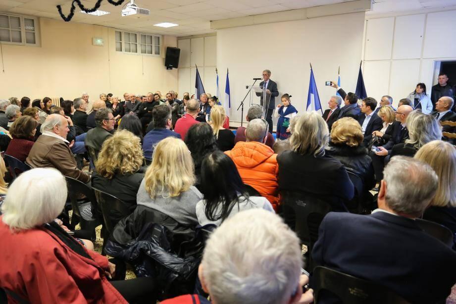 Honoré Colomas a pris le micro une dernière fois pour une cérémonie des vœux émouvante.