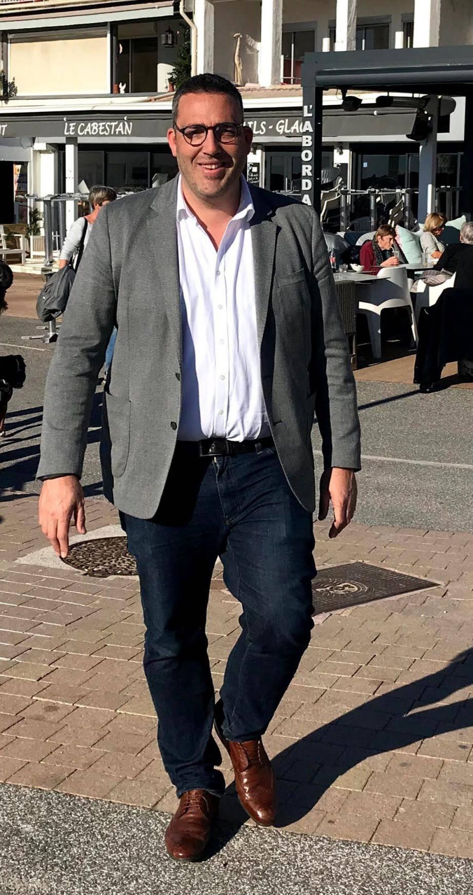 Yvan Maubé, tête de liste (SE) « Notre force pour Saint-Cyr ».