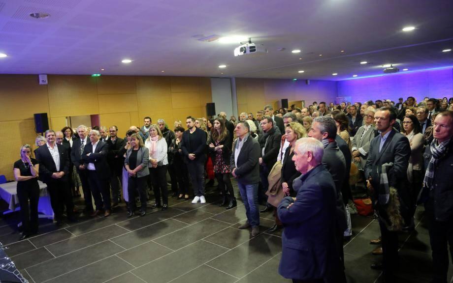 De très nombreux représentants du monde économique du centre Var étaient présents à cette cérémonie, ainsi que nombre d'institutionnels, et d'élus des collectivités locales.