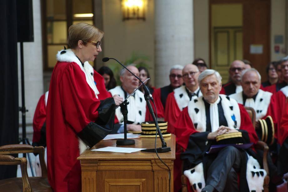 La procureure générale Marie-Suzanne Le Queau a annoncé hier quelles seront ses priorités.